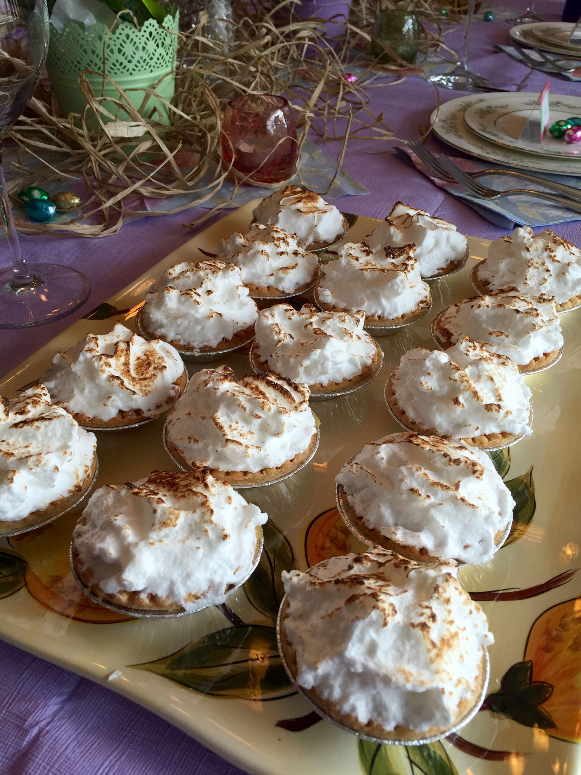 Mini pies by Cathy