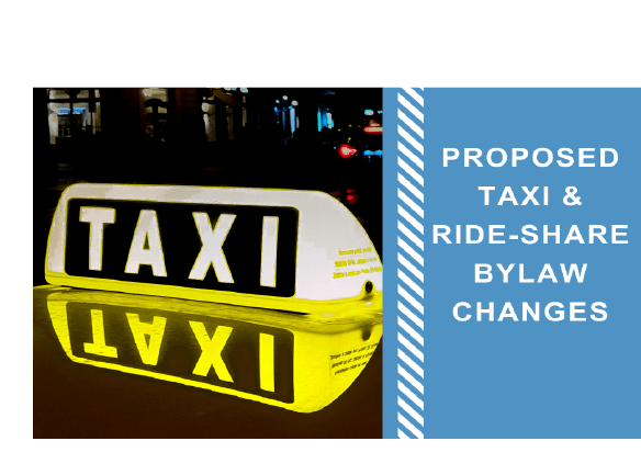 Taxi Bylaw revisions