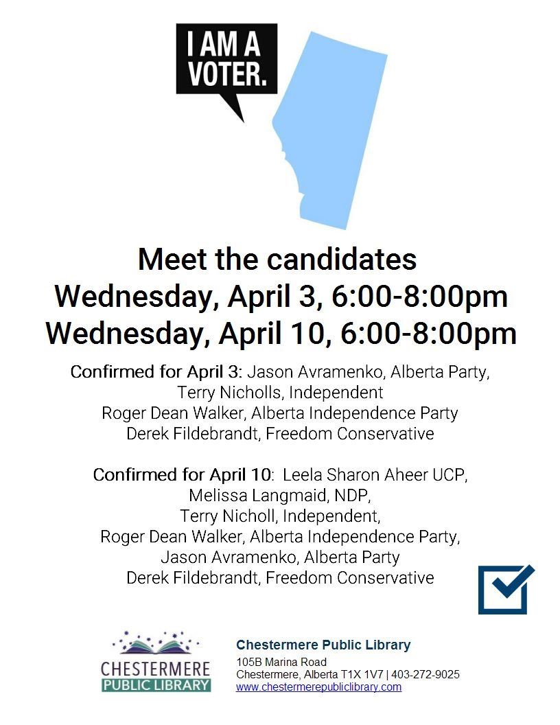 Library Meet the Candidates