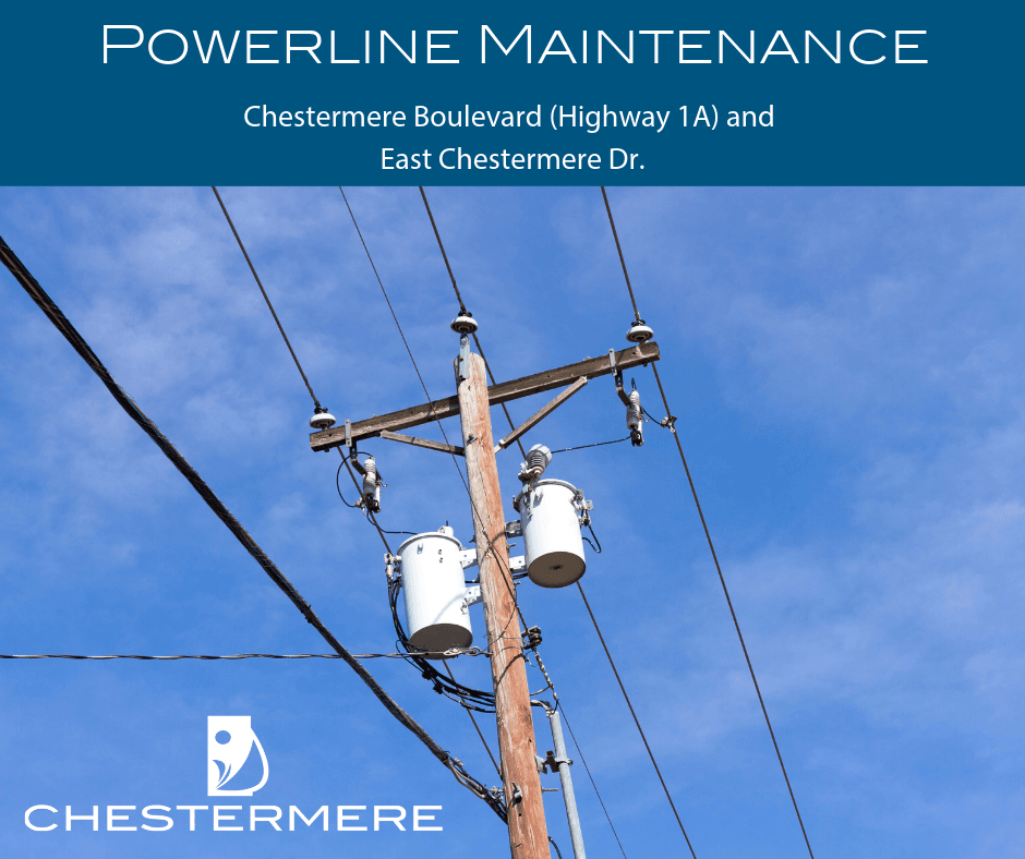 Powerline Maintenance May 28-30 & June 3-6