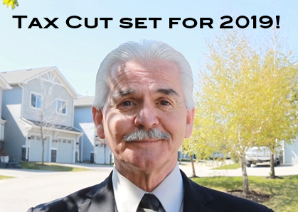 tax cut set