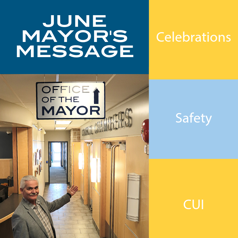 June Mayors Message