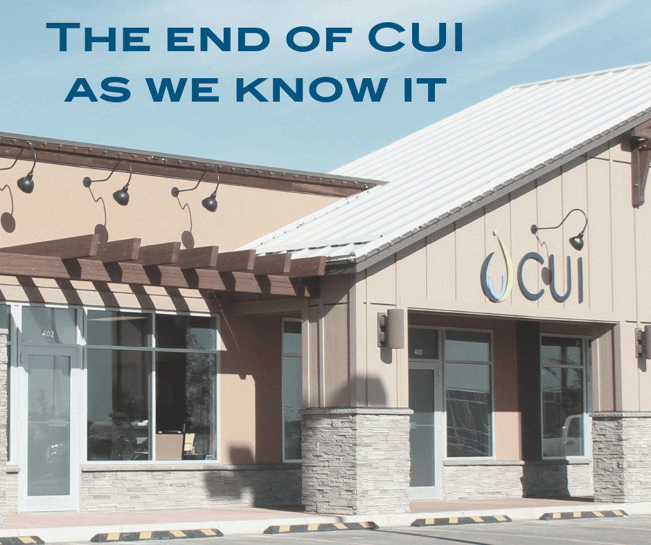Copy of CUI News and Update