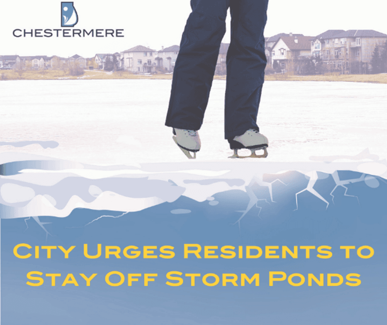 stay off storm ponds