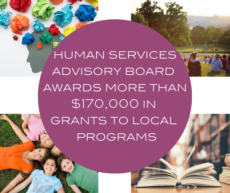Human Services Advisory Board grants