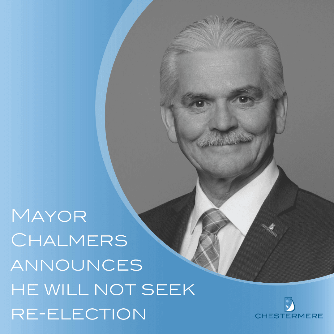 Mayor Chalmers announces he will not run in fall election