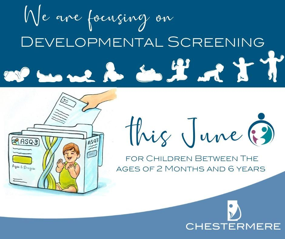 Developmental Screening Month